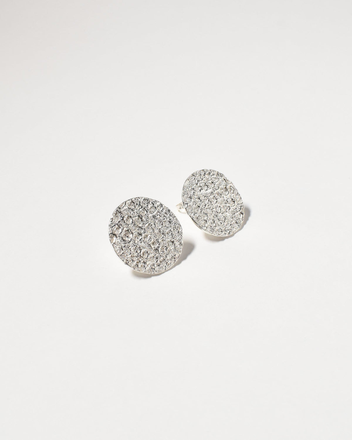 Marley Studs (Large), Sterling Silver