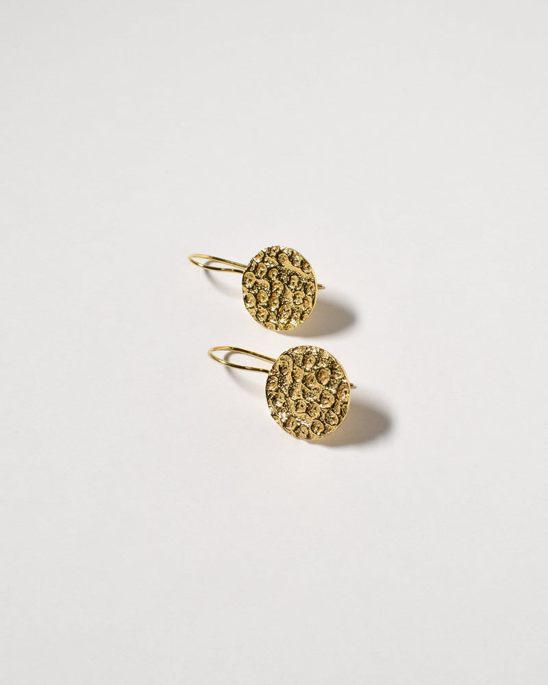 Marley Earrings, Yellow Gold Plated