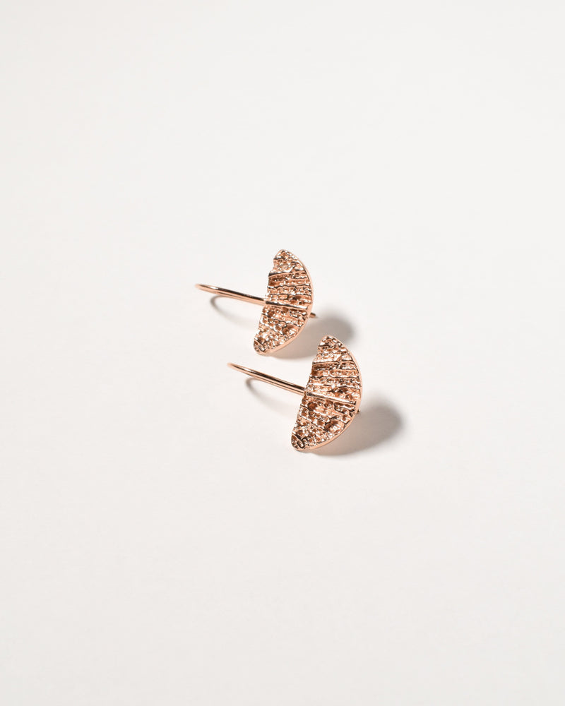 Wanda Earrings, Rose Gold Plated