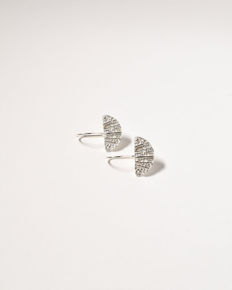 Wanda Earrings, Sterling Silver