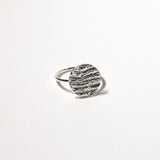 Kutti Ring (Large). Sterling Silver