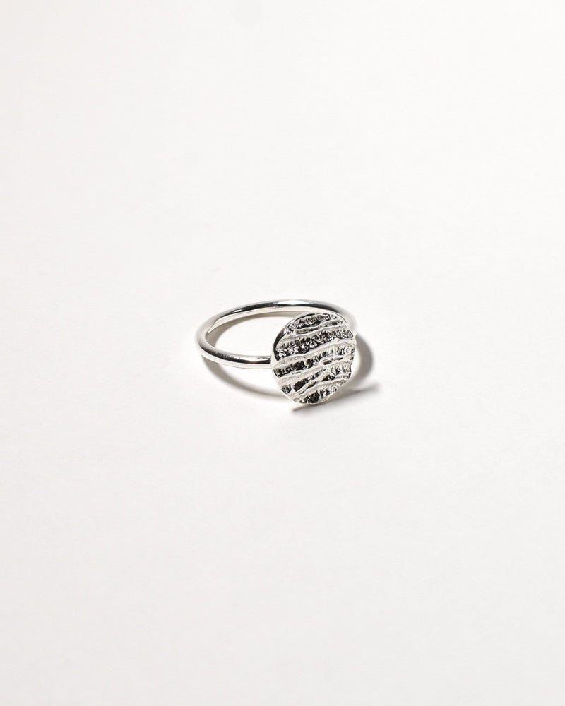 Kutti Ring (Small). Sterling Silver