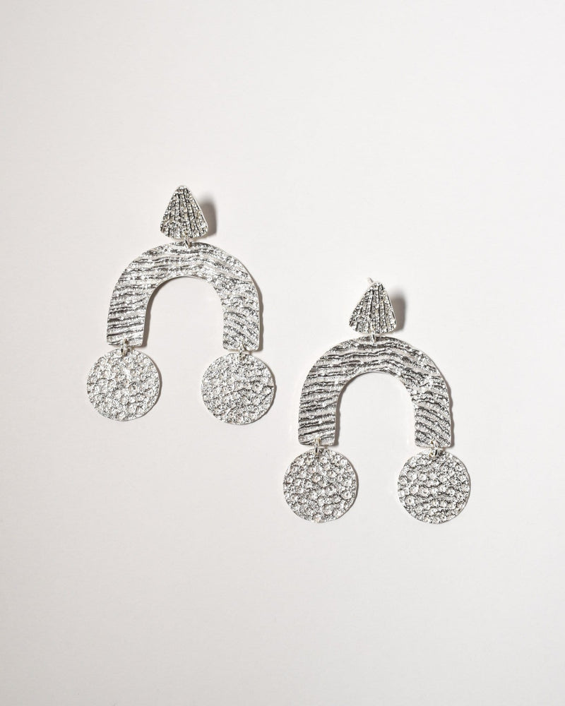 Bondi Earrings, Sterling Silver