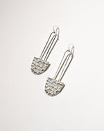 Lady Bay Earrings, Sterling Silver