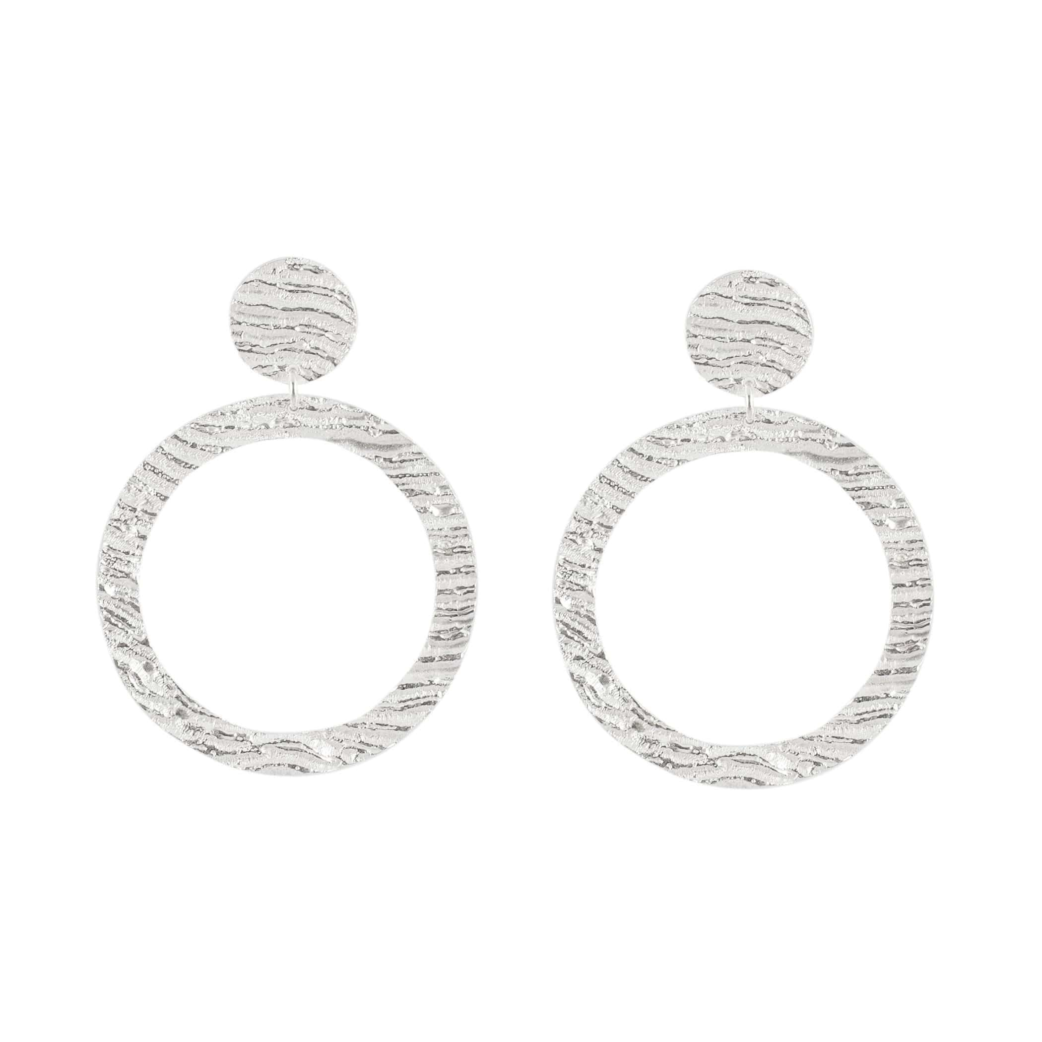 Hoop Earrings, Sterling Silver