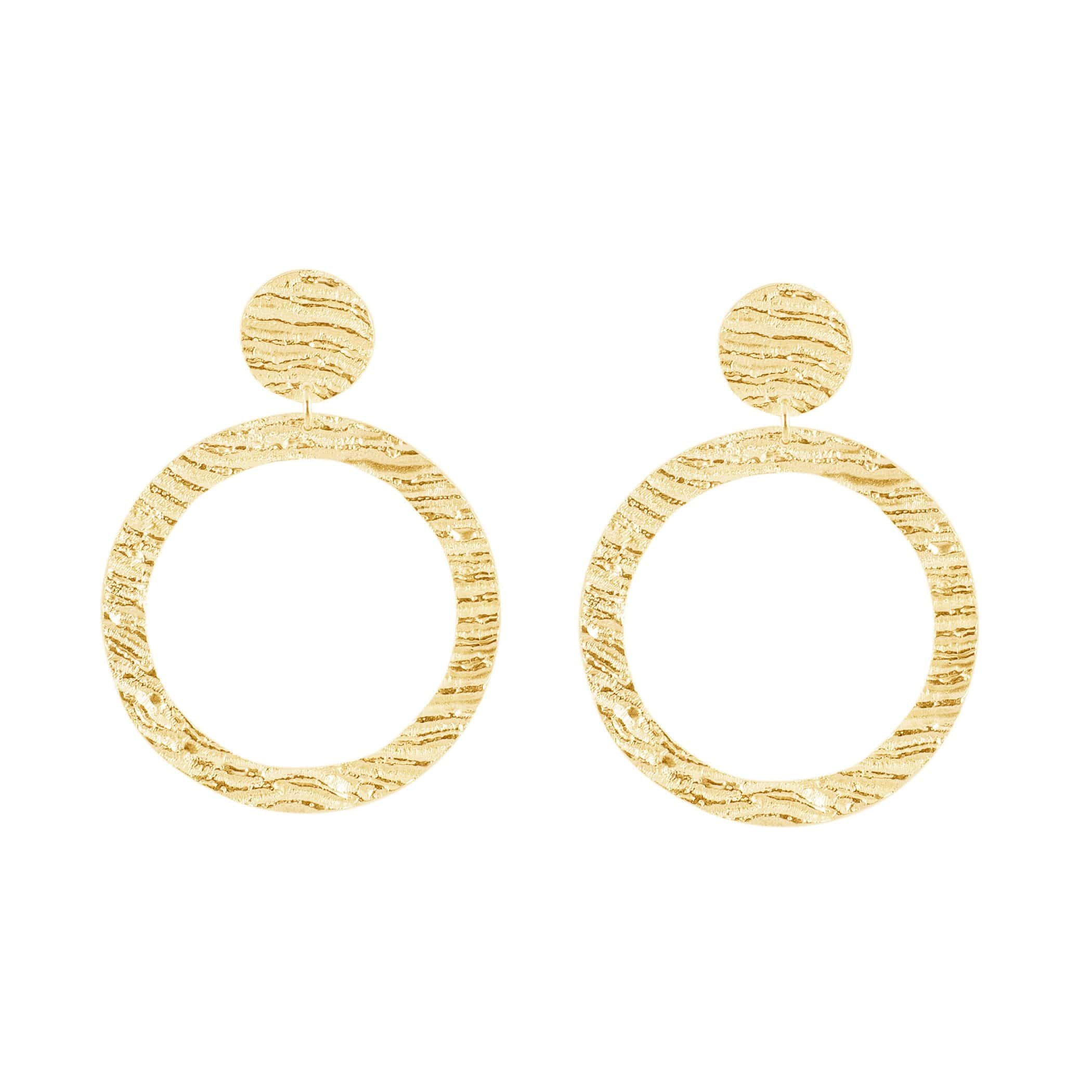 Hoop - Yellow Gold
