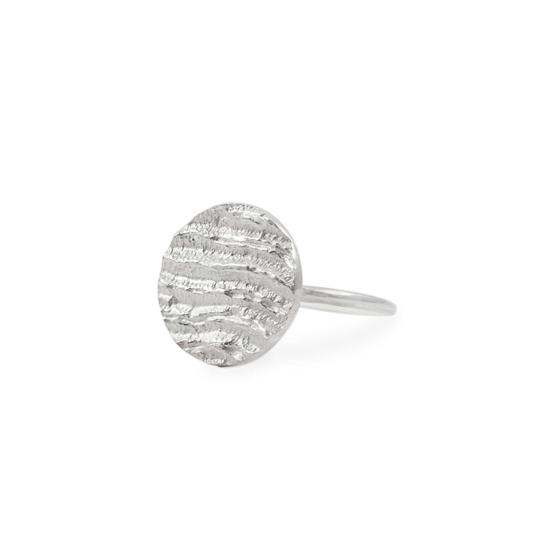 Small Round Ring - Silver