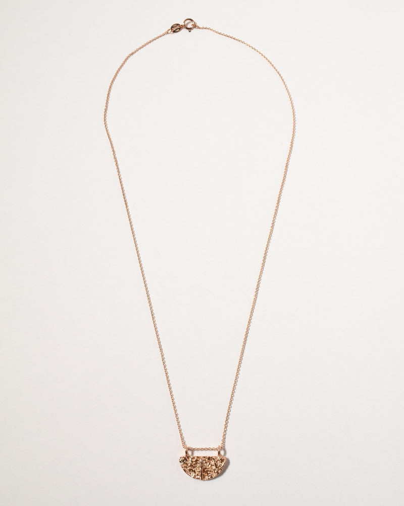 Wanda Necklace, Rose Gold Plated