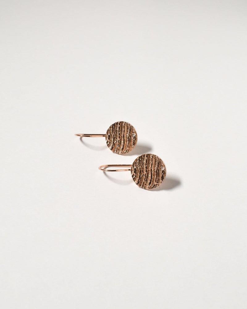 Kutti Earrings, Rose Gold Plated