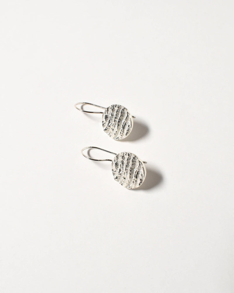 Kutti Earrings, Sterling Silver