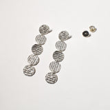 Curl Curl Earrings (Large), Sterling Silver