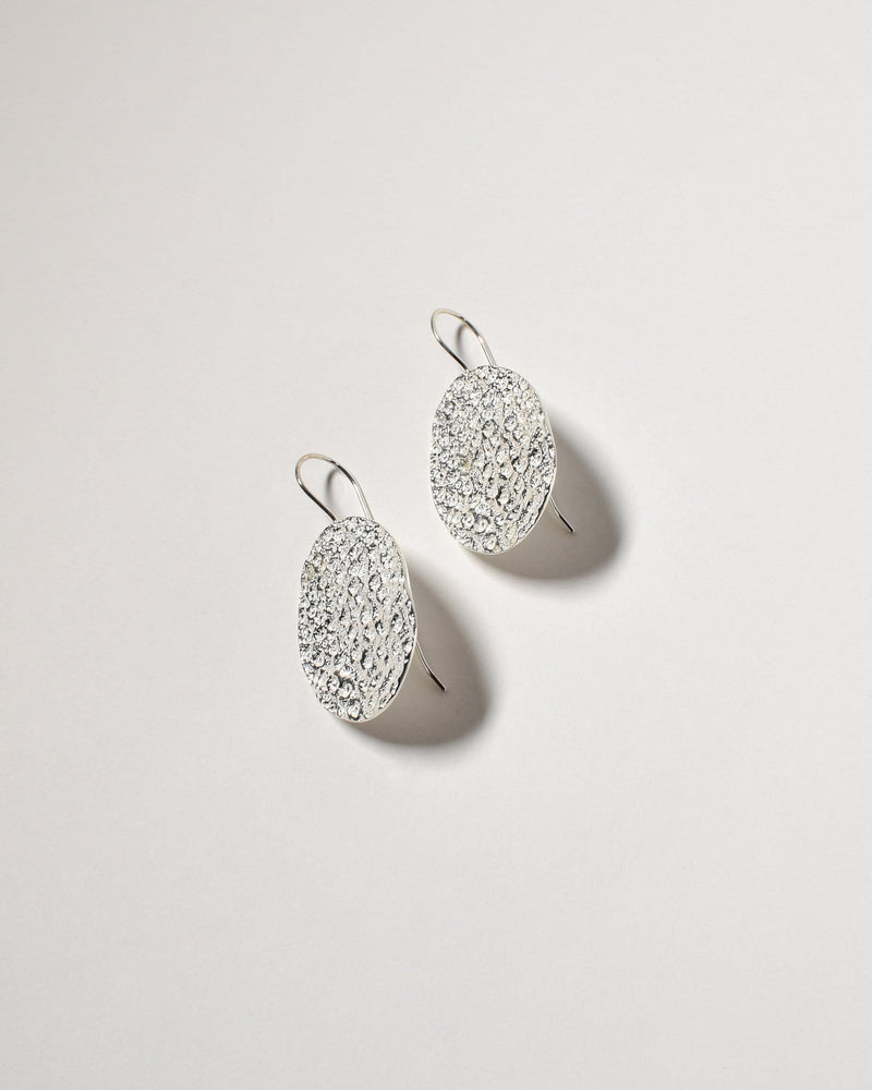 Tamarama Earrings, Sterling Silver