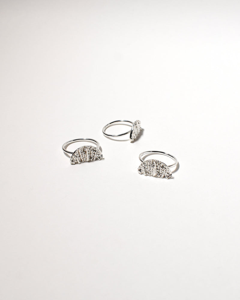 Wanda Ring (Large), Sterling Silver