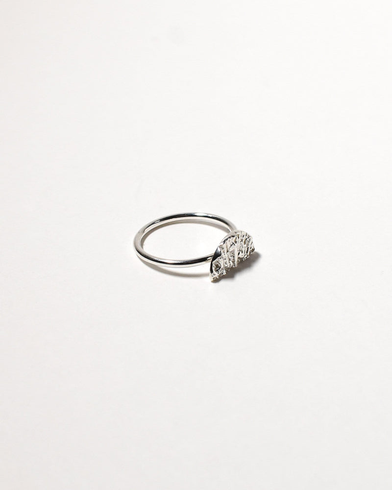 Wanda Ring (Small), Sterling Silver