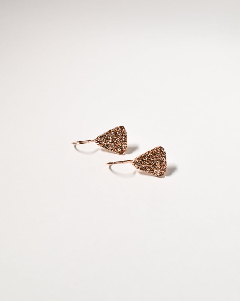 Shelly Earrings, Rose Gold Plated