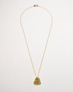 Shelly Necklace, Yellow Gold Plated