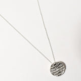 Kutti Necklace, Sterling Silver