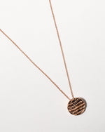 Kutti Necklace, Rose Gold Plated