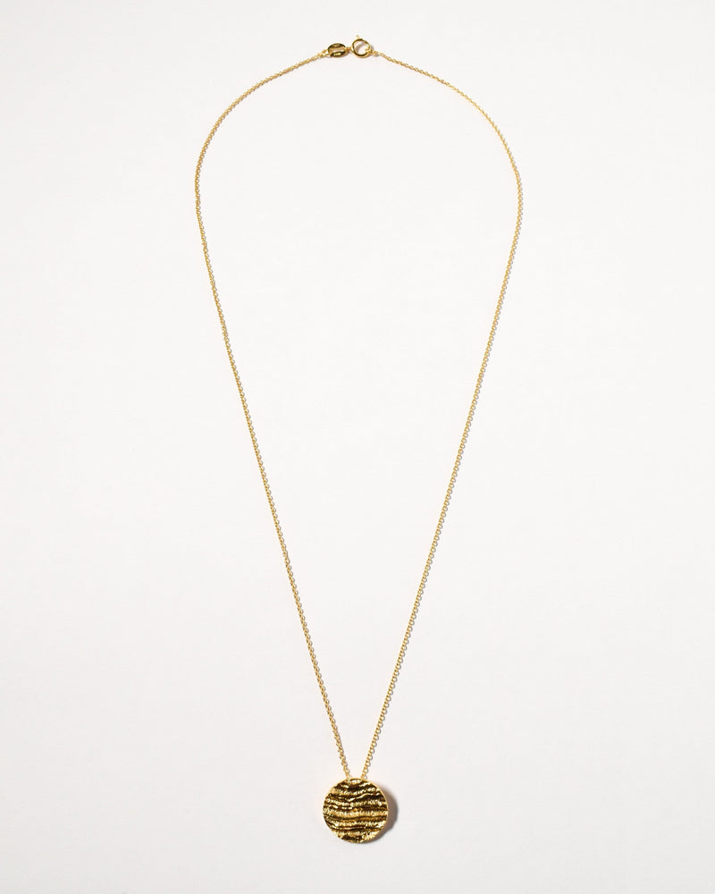 Kutti Necklace, Yellow Gold Plated