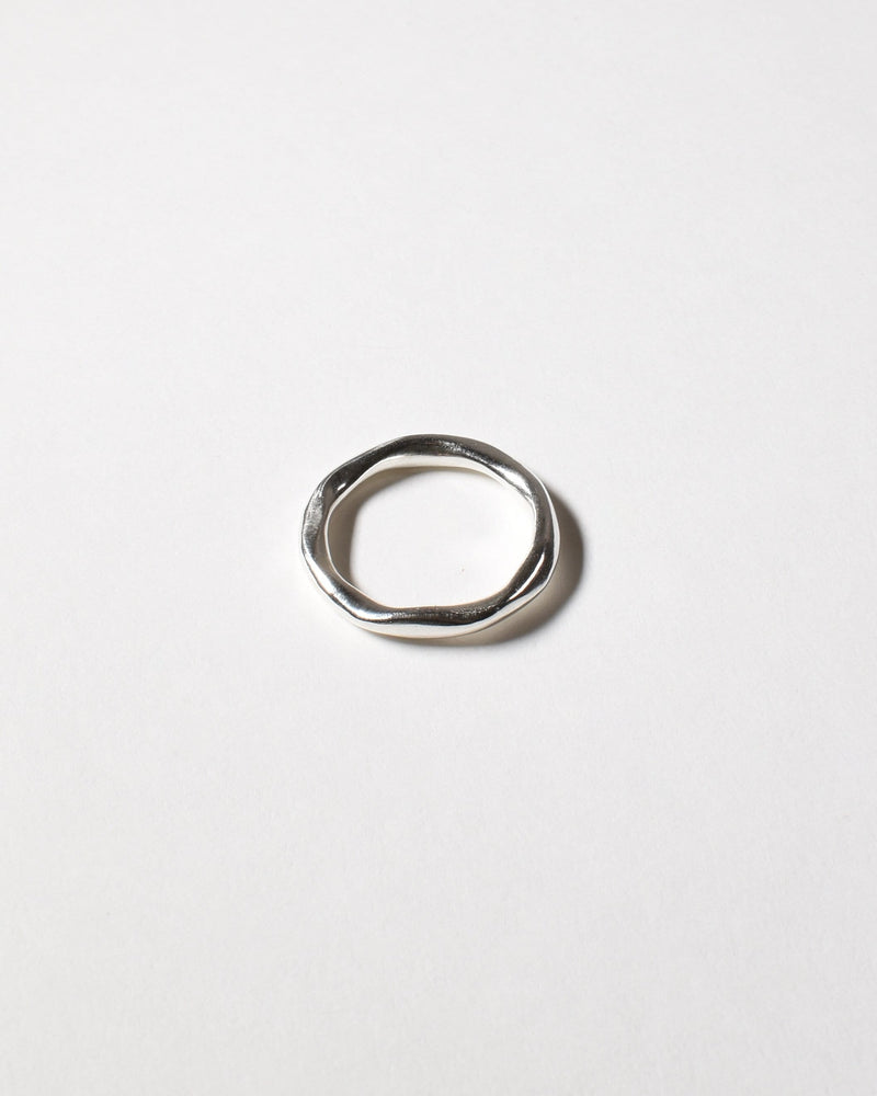 Wiggle Ring, Sterling Silver