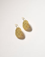 Dotty Drop Earrings, Yellow Gold