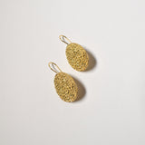 Tamarama Earrings, Yellow Gold Plated