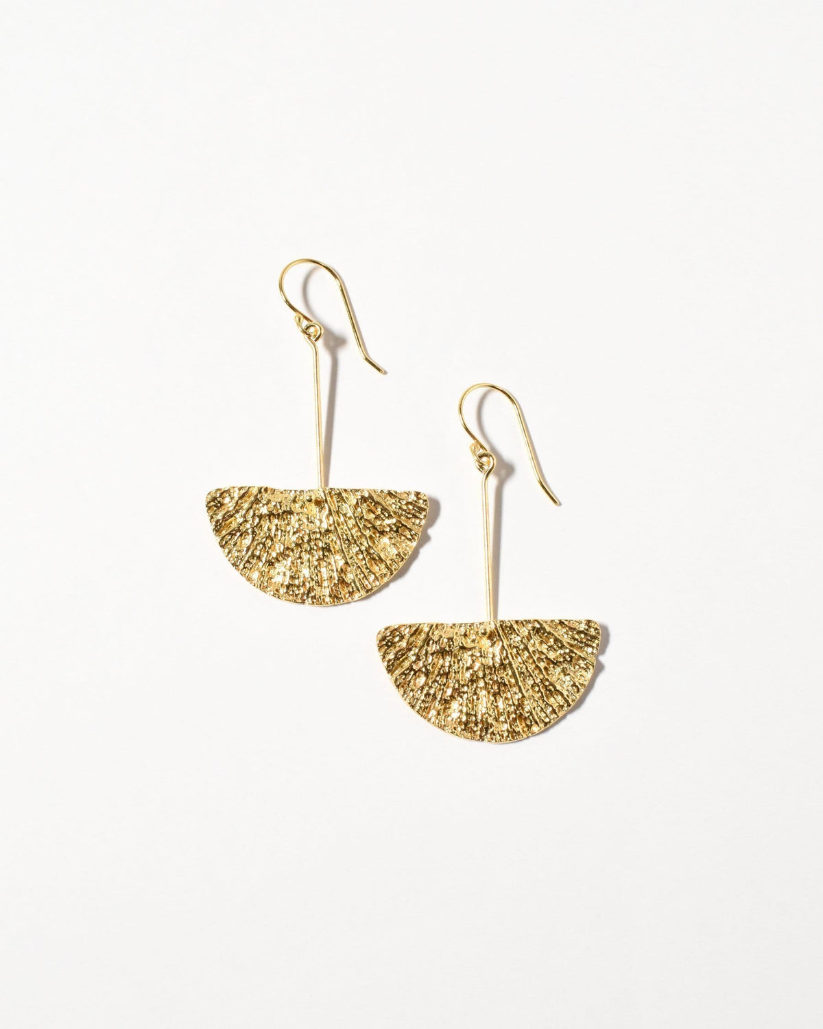 Bronte Earrings, Yellow Gold Plated