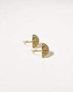 Wanda Earrings, Yellow Gold Plated