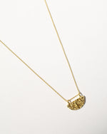 Wanda Necklace, Yellow Gold Plated