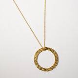 Avalon Necklace, Yellow Gold Plated