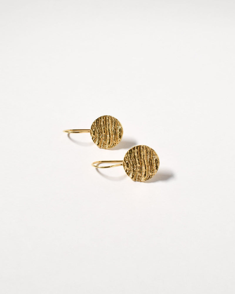 Kutti Earrings, Yellow Gold Plated