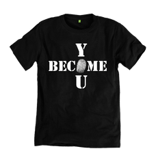 Become You Tee - Black - 100% Organic Cotton