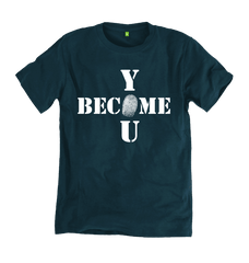 Become You Tee - Denim Blue - 100% Organic Cotton