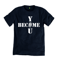 Become You Tee - Navy - 100% Organic Cotton