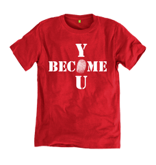 Become You Tee - Red - 100% Organic Cotton