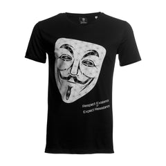 Mask T-Shirt - 100% Organic Cotton - Front