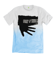 Succumb to Nothing - White-Blue - 100% Organic Cotton
