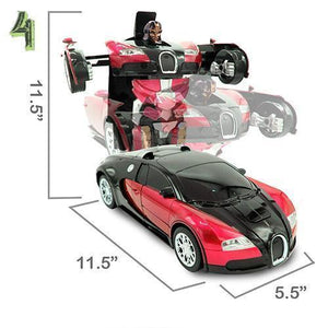 【Christmas Promotion 50% OFF,Buy 2 Get Additional 5$ Discount】Gesture Sensing Transformation Car Model