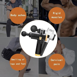 (65% OFF ONLY TODAY) - Multifunctional Massage Gun Helps Relieve Muscle Soreness and Stiffness