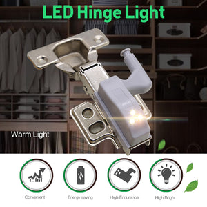 LED Cabinet Lights Universal Wardrobe Cabinet  Kitchen Light Sensor