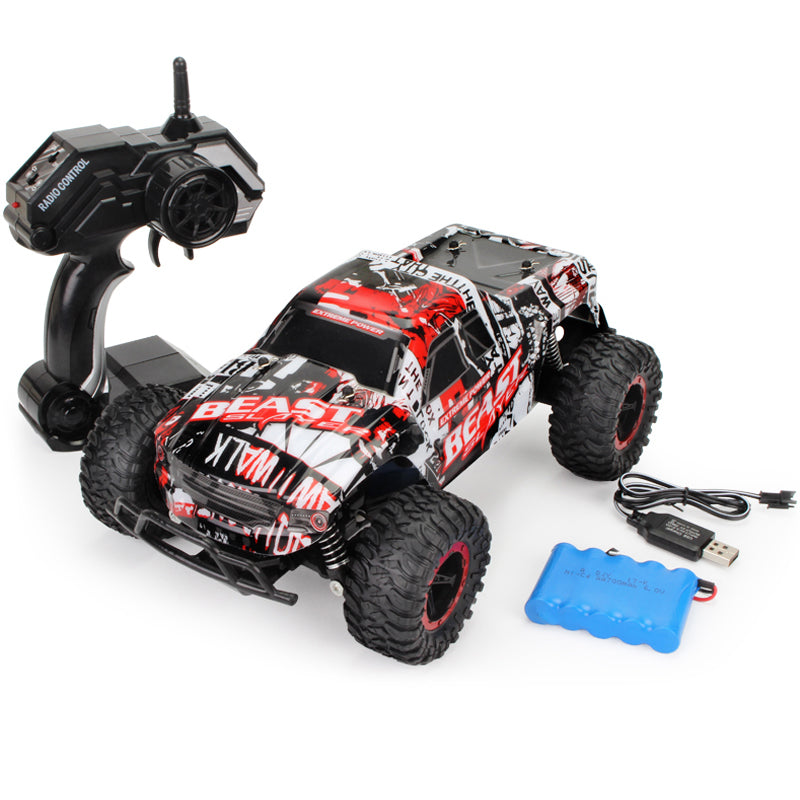 (HOT SALE !!!!)1:16 RC Car Off-Road Rock - 4X4 MONSTER TRUCK