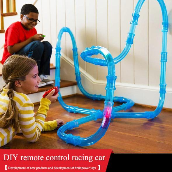 Winnter Hoilday Limited Time Promotion 50% Off&Free Shipping-Remote Control Speed Pipes Racing Track