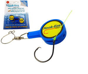 (2 Pieces/Bag)HOOK-EZE Fishing Knot Tying Tool for Fishing Hooks All in One
