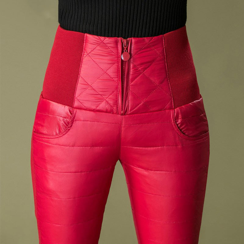 Women High Waist Down Pants
