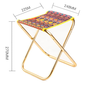 Outdoor Fishing Camping Stool Folding Chair