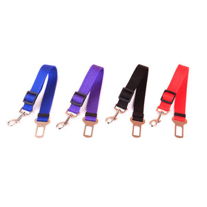 50% OFF & Adjustable Pet Dog Cat Car Seat Belt Safety