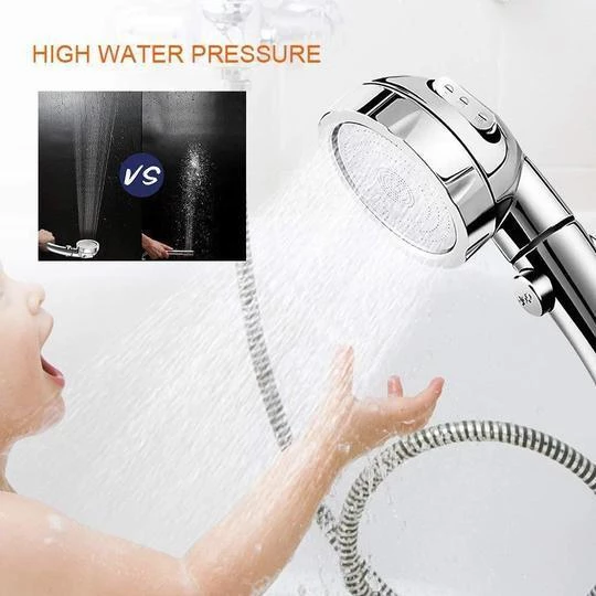 The Misugi - 3 In 1 High Pressure Showerhead (US Standard Hose Size)
