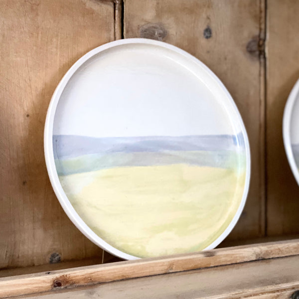 Welsh Coastal Toned Plate