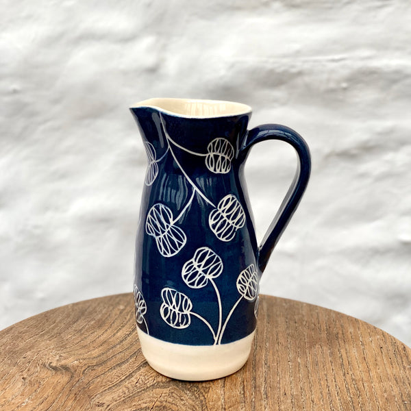 Honesty Jug Dark Blue