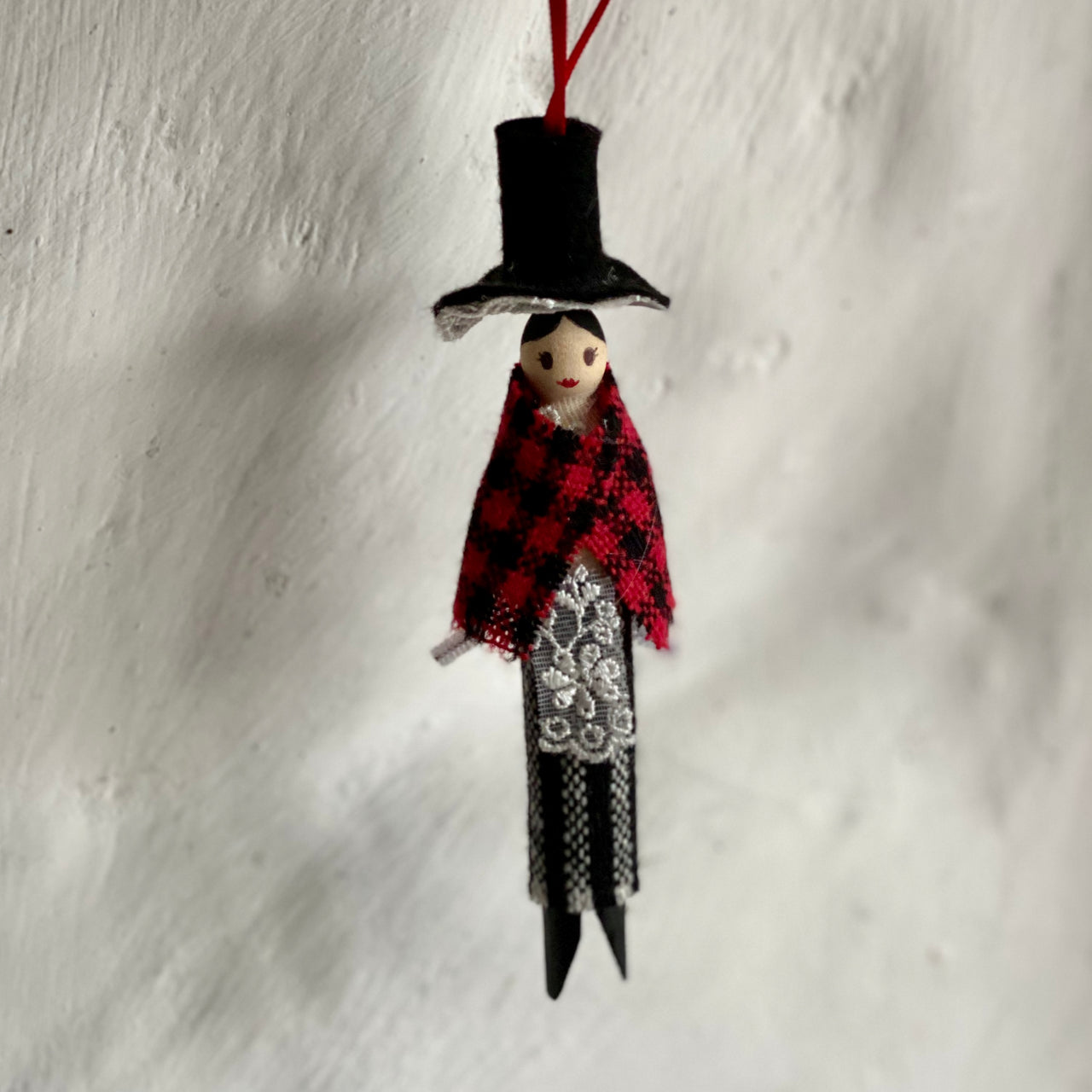 Traditional Welsh Doll Decoration